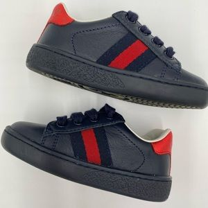 Toddler Authentic GUCCI Ace Shoe Size 20 US 4